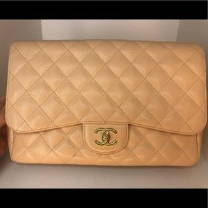 Chanel Caviar Jumbo Single Flap,LAST PRICE❌